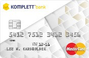 Komplett Bank MasterCard