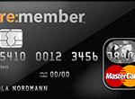 re:member MasterCard kredittkort