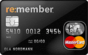 re:member MasterCard kredittkort